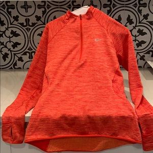 Nike Dri-fit work out 3/4 zip top